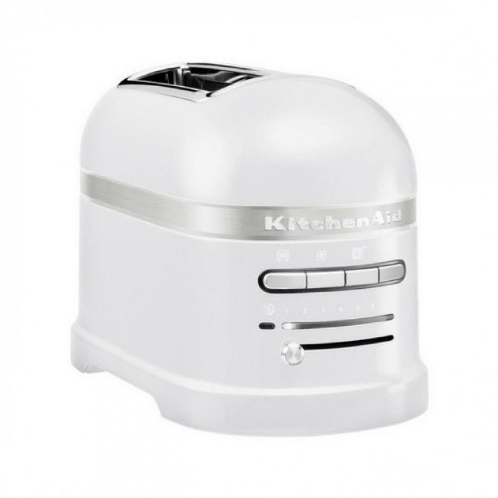 Фото - KitchenAid Тостер KitchenAid Artisan, морозный жемчуг, 5KMT2204EFP тостер kitchenaid 5kmt2204efp морозный жемчуг