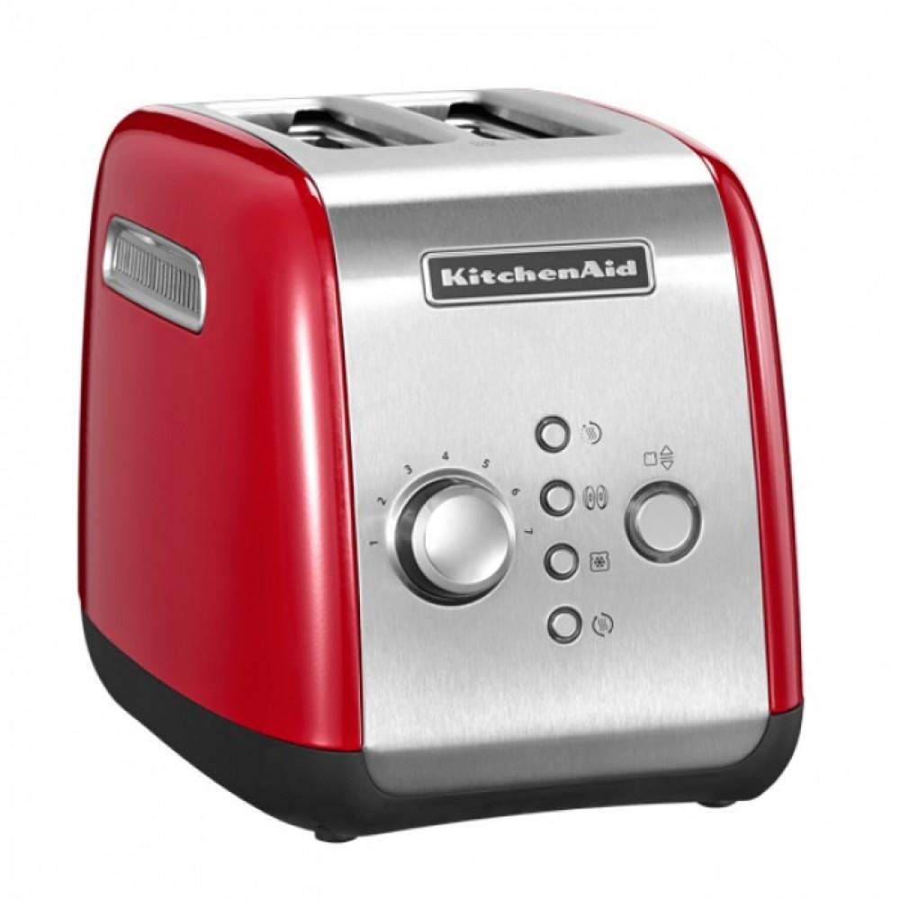 Тостер KitchenAid, красный, 5KMT221EER