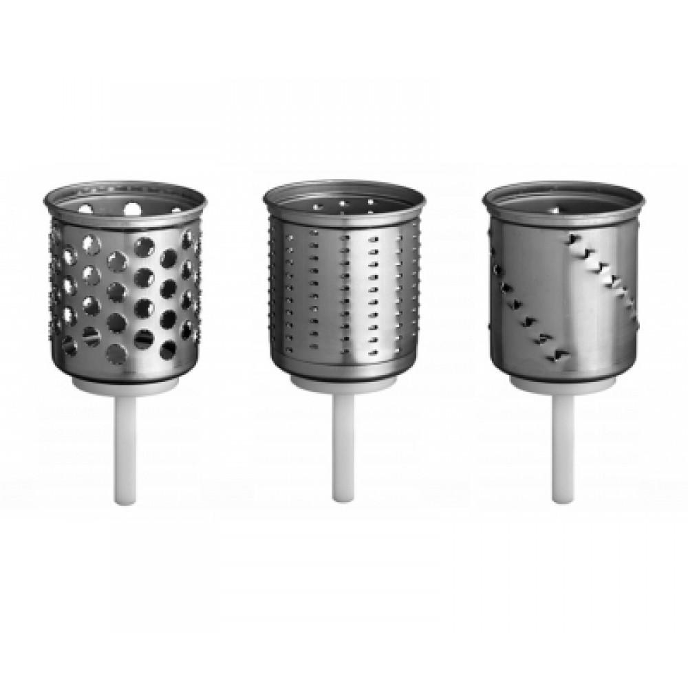 KitchenAid Набор дополнительных ножей для овощерезки KitchenAid, EMVSC kitchenaid диск нож кубики 12 мм для 5kfp1335 и 5kfp1326 комплект 5kfp13dc12 kitchenaid