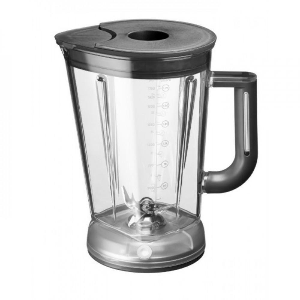 KitchenAid Стакан для блендера KitchenAid Artisan с электромагнитным приводом, 1.75 л, 5KSBSPJ стакан для блендера с электромагнитным приводом artisan поликарбонат 1 75 л с крышкой 5ksbspj kitchenaid