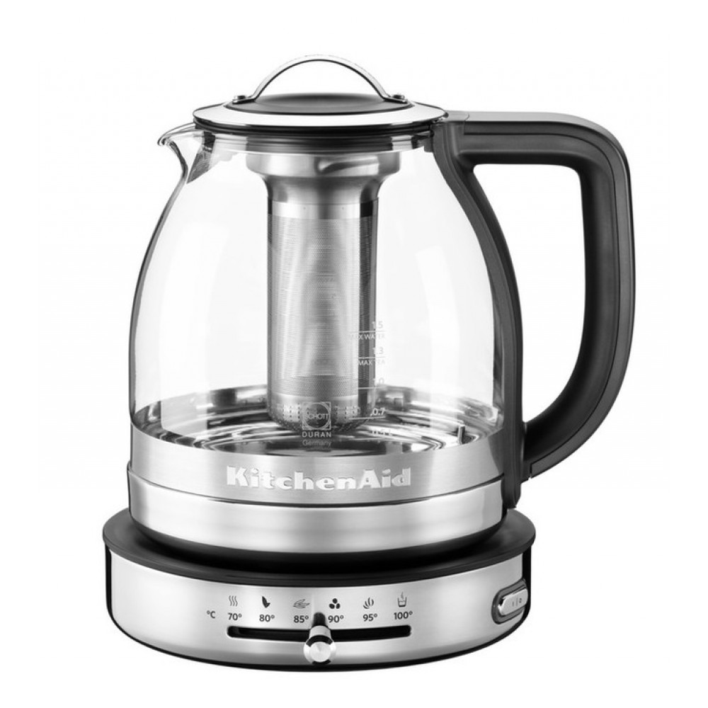 KitchenAid Чайник KitchenAid ARTISAN, стеклянный, 5KEK1322SS