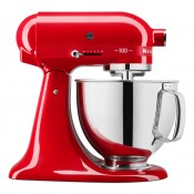 Планетарный Миксер KitchenAid ARTISAN юбилейная серия QUEEN OF HEARTS 4.8 л, страстный красный, 5KSM180HESD