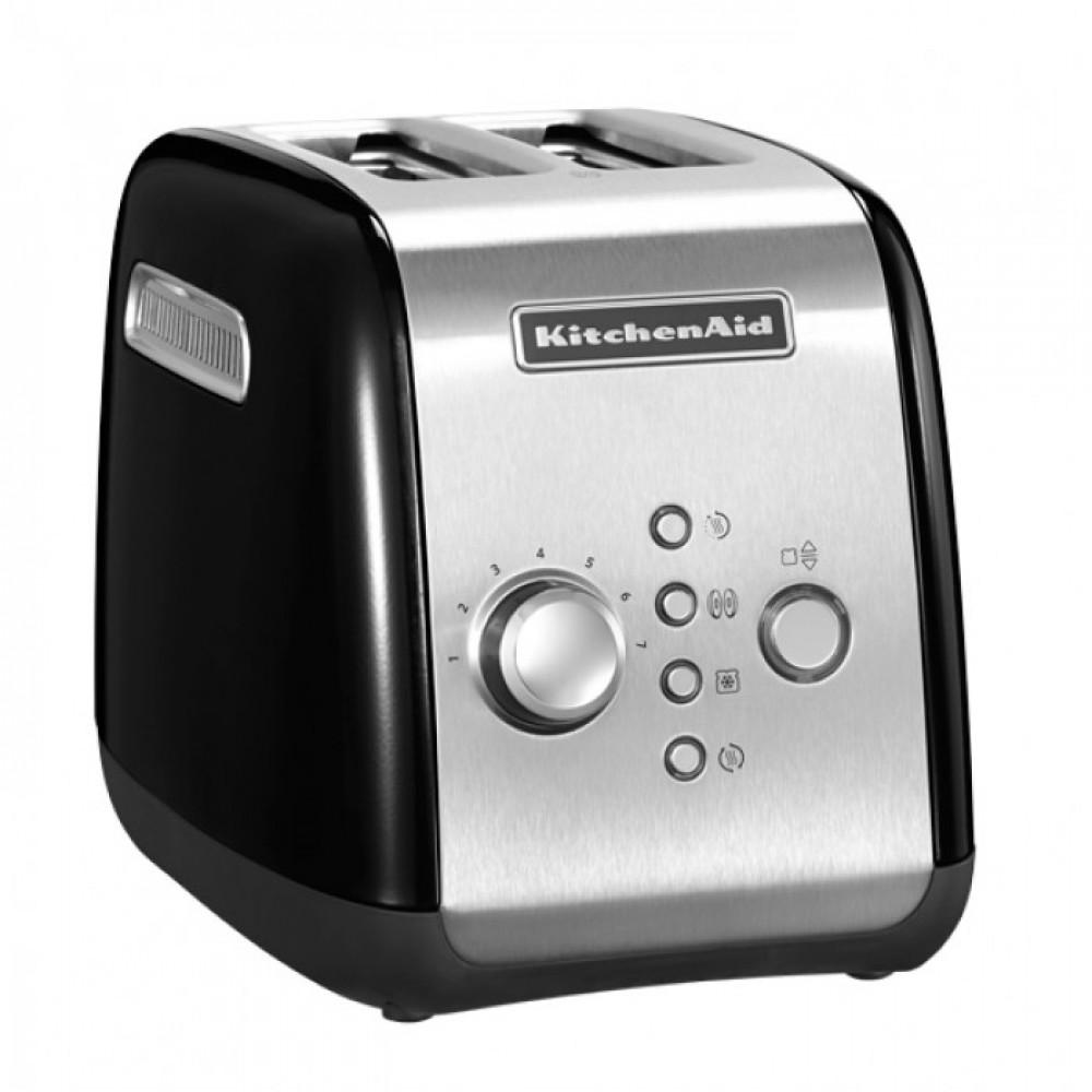 Тостер KitchenAid, черный, 5KMT221EOB