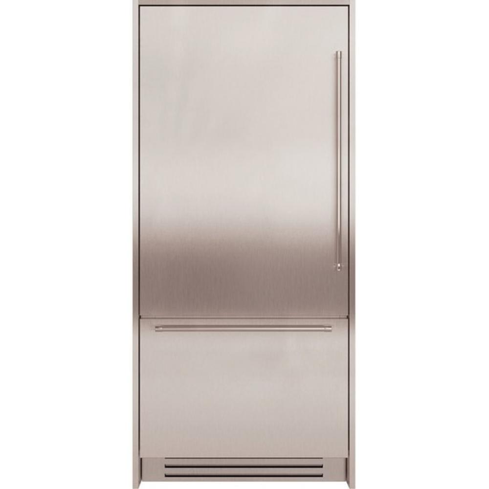 KitchenAid Комплект из нержавеющей стали для интегрируемого холодильника KitchenAid KACKX 00090 kitchenaid сковорода анодизированная 24 см kc2h110skkd kitchenaid