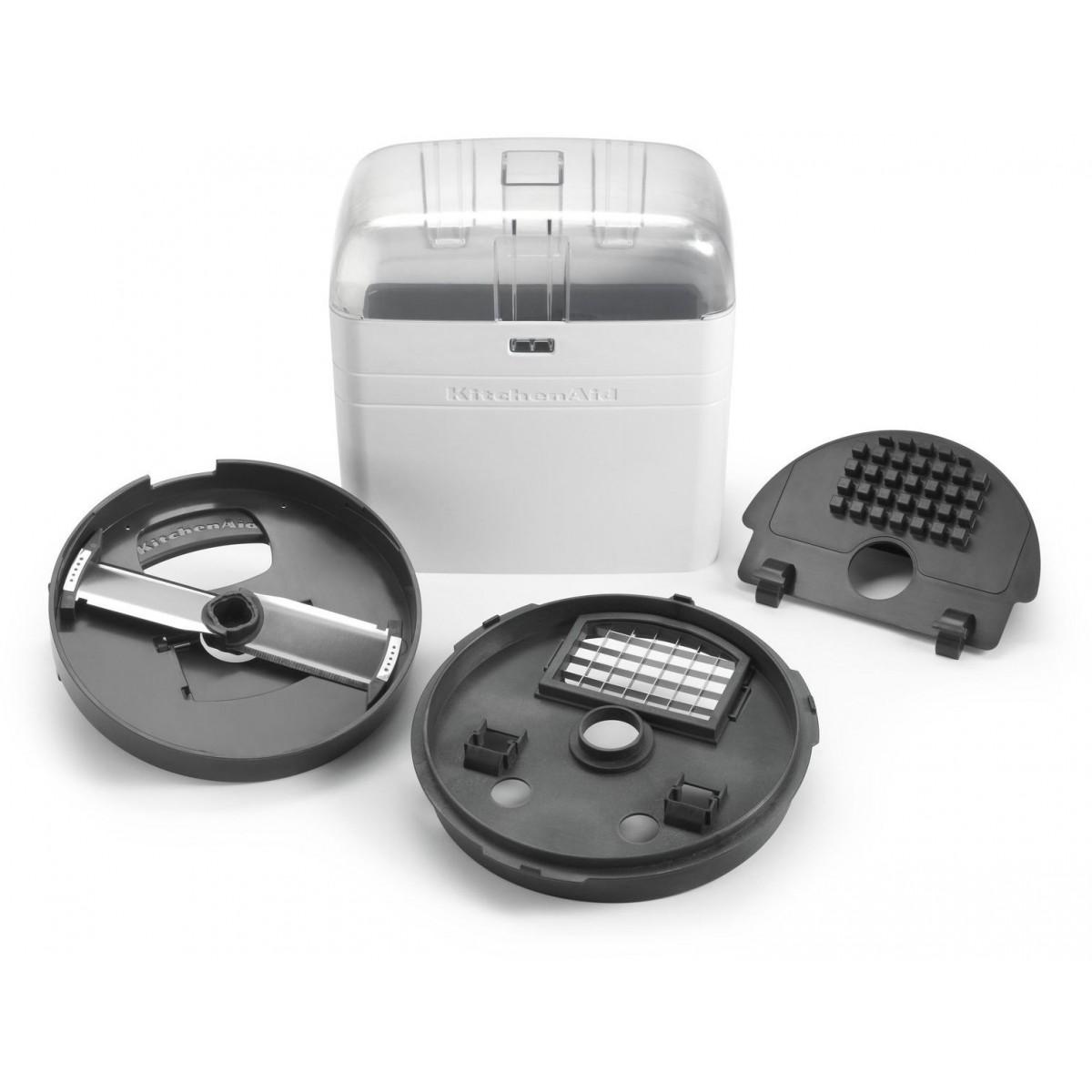 KitchenAid Диск-нож KitchenAid для нарезки кубиками 12мм для комбайна 3,1л, 5KFP13DC12 kitchenaid диск нож кубики 12 мм для 5kfp1335 и 5kfp1326 комплект 5kfp13dc12 kitchenaid