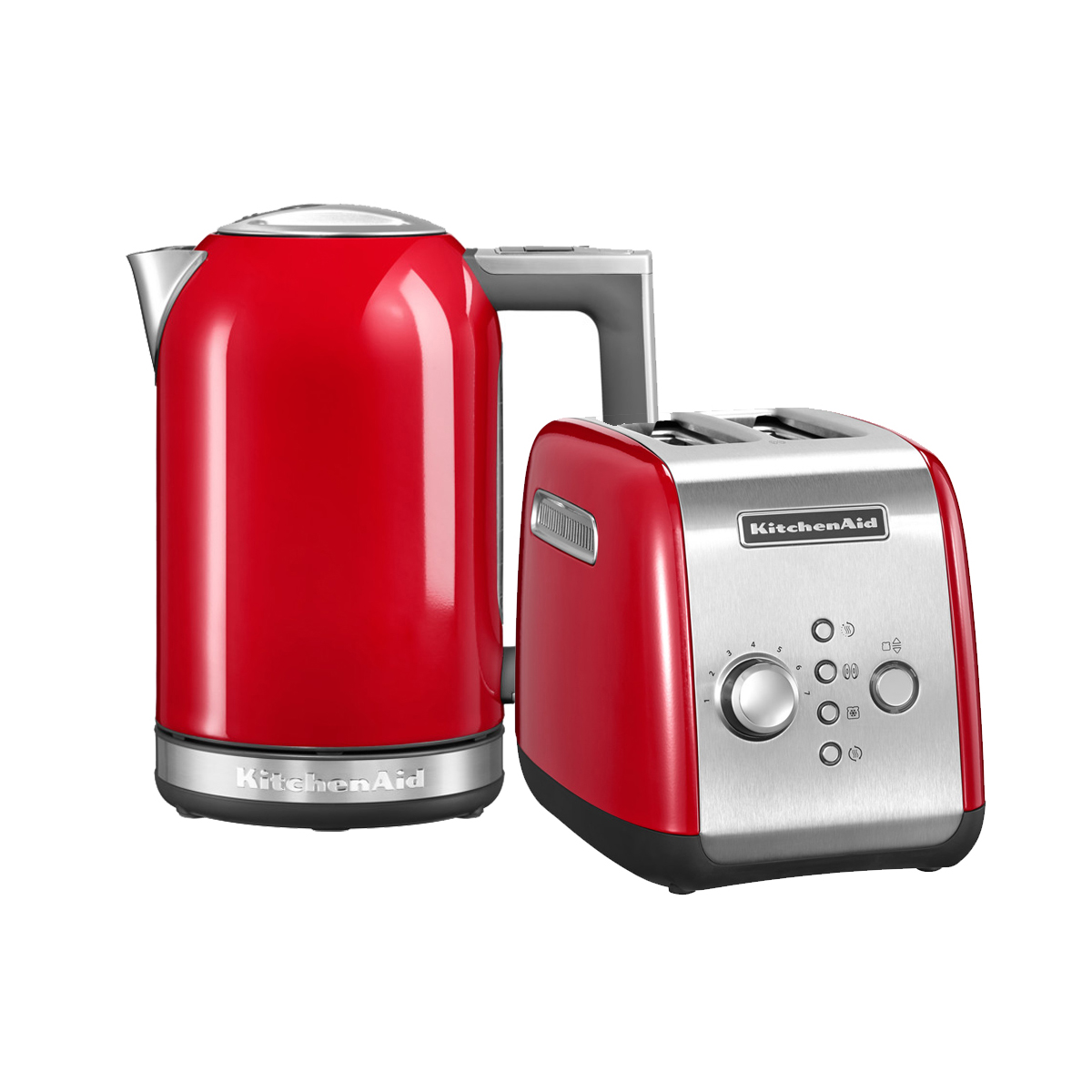 Набор Завтрак KitchenAid Тостер 5KMT221EER + Чайник