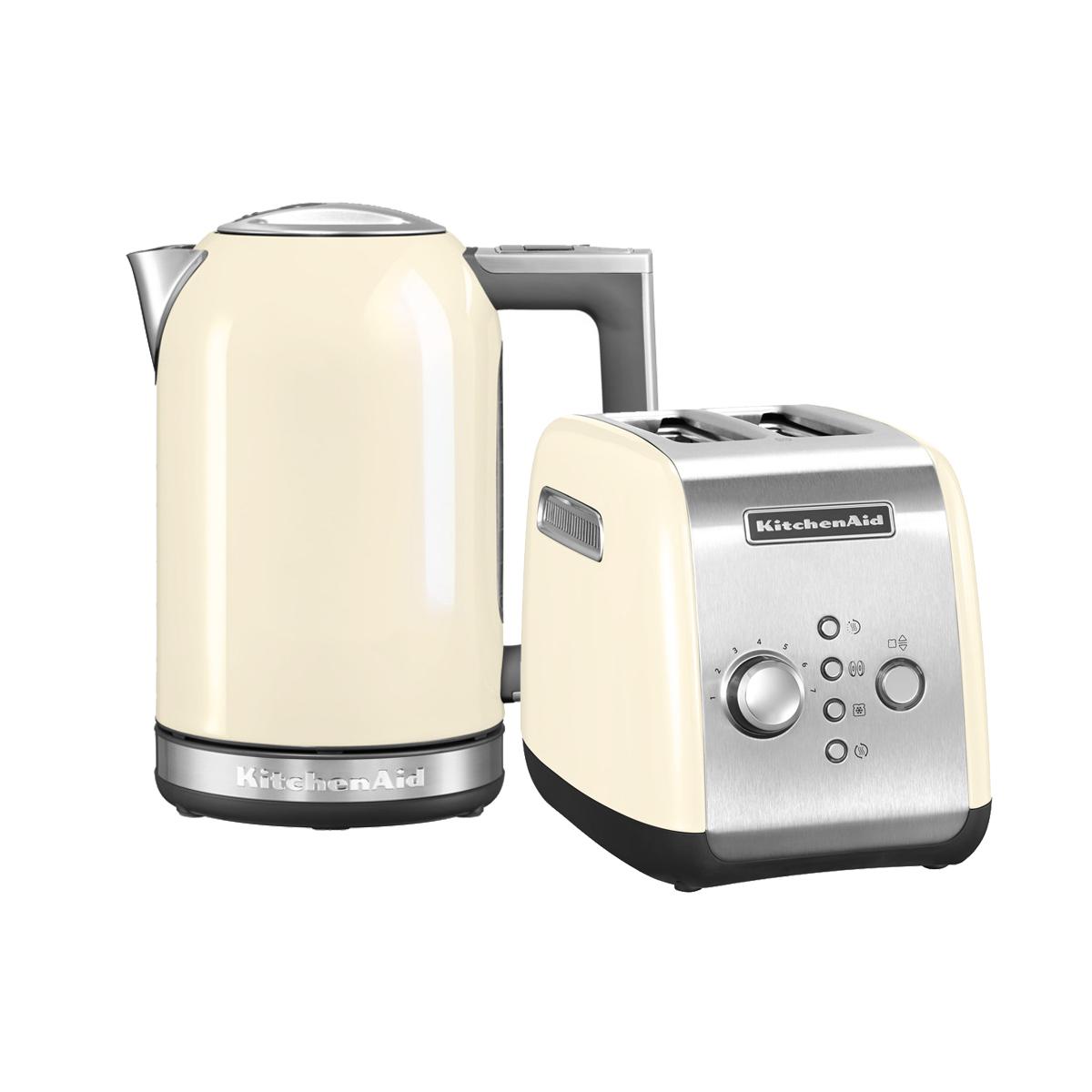 Набор Завтрак KitchenAid Тостер 5KMT221EAC + Чайник